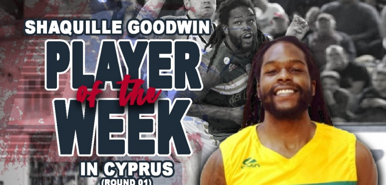 Goodwin's double-double lands him Cyprus Player of the Week award