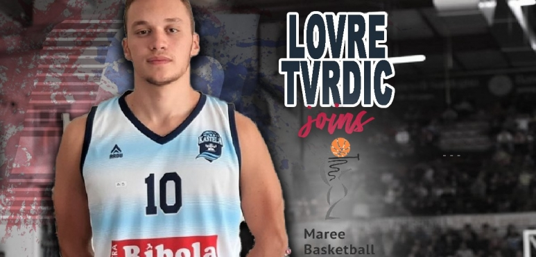 Lovre Tvrdic is a newcomer at Maree