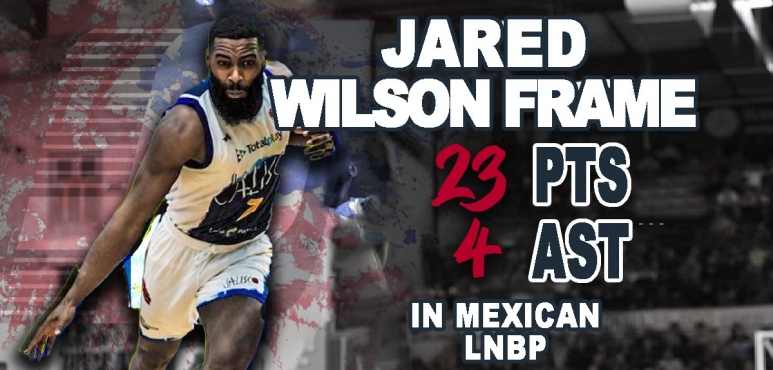 Great numbers in Mexico for Jared Wilson Frame